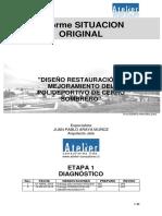 01.1_Informe SITUACIÓN ORIGINAL Polideportivo Cerro Sombrero