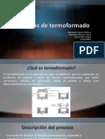Procesos de Termoformado