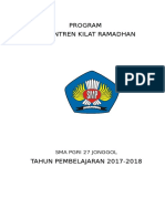 PROGRAM Sanlat Rmdhan 2017-2018