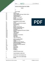 Specs Civil Works for 132kV Substations