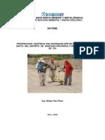 Prospeccion Geofisica Con Georadar Sector Sacta, Distrito Santiago