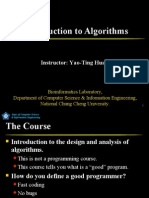 1. Introduction to Algorithms