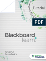 Tutorial Blackboard V91 SP14