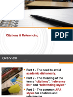 Citations & Referencing