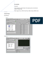 ADC Analysis Software