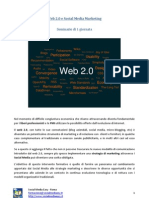 Web 2.0 e Social Media Marketing Brochure