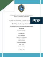 Trabajo Sobre La Preferencia de La Joven Universitaria Por El Hombre Maduro