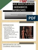 Ejercicios Cadenas Mmi