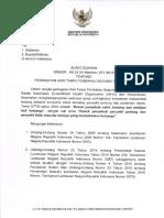 Surat Edaran Htts Final