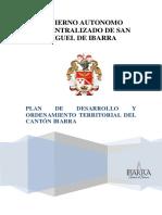 Parte 1 - Plan Ibarra 2031