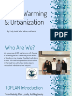 global warming   urbanization