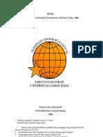 Soal Olimpiade Geografi Nasional Tingkat SMA 2008