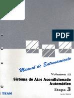 12.- Sistema de Aire Acondicionado Automatico