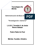 Investigacion Memoria