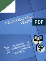 Decc3a1logo Del Perito