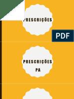 PRESCRIÇÕES.pptx