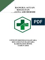 339899730 Kerangka Acuan Sarana Air Bersih