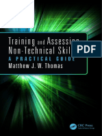 Training and Assessing Non Technical Skills a Practical Guide
