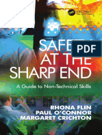 Safety at the Sharp End a Guide to Non Technical Skills