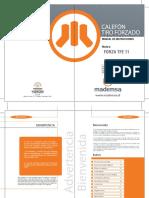 Manual Tfe 11