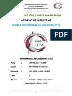 INFORME DE LABORATORIO N° 02 - MECANICA DE SUELOS I