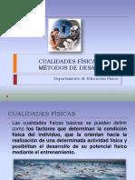 cualidadesfisicasysusmetodosdedesarrollopowerpoint-140112071430-phpapp02