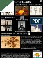 Rocketry History