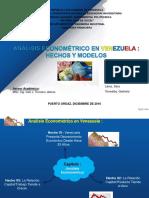Analisis Econometrico Venezuela Hechos y Modelos