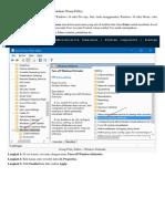 Disable Windows Defender Menggunakan Group Policy & Regedit