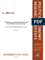 A Scheme to Coordinate Monetary and Fiscal Policies in the Euro A