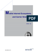 Detecon Opinion Paper Mobile Internet Ecosystems and Carrier Strategies