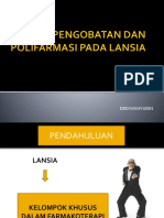 Ppt. Prinsip Pengobatan Dan Polifarmasi Pada Lansia