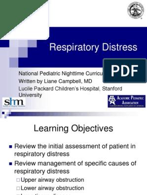 respiratorydistress presentation.ppt   Respiratory Tract