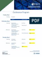 ICN-OECD Conference Program Draft - Comp Econ
