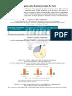 Corrupción en Los Centros de Salud Del Perú