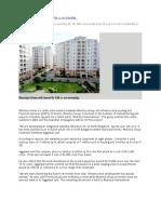 Bhartiya Urban will invest Rs 10K cr on township