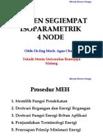 7 Meh Elemen Segiempat Isoparametrik Ok Tugas 2