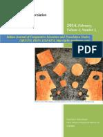 Volume 2, Number 1, February 2014 ( IJCLTS)