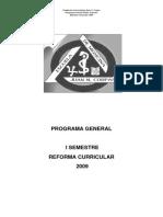 13.2 Programa Reforma Curricular i Sem