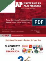 Semana 6 - 2018-1 - Contrato de Franquicia, Contrato de Know How