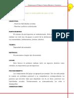 Manual Dinamicas Para Trabajar en La Comunidad