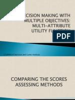 5 Multi-Attribute Utility Function