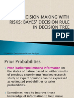4 Bayes' Decision Rule