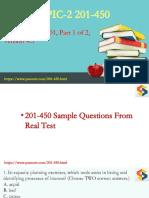 2018 New LPIC-2 Exam 201-450 PDF Dumps