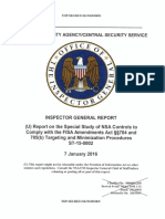 NSA IG Report January 7 - 2016