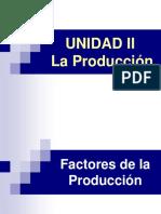 Unidad II La Produccion Ciclo II 2015