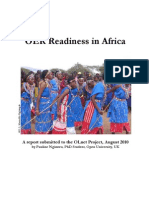 OER Readiness in Africa