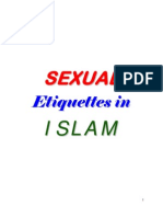 Sexual Etiquettes in Islam