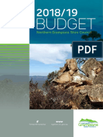 Northern Grampians Shire Council 2018-19 proposed Budget