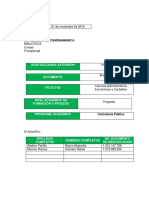 Diagnostico y Plan de Mejoramiento Del Modelo de Control Interno (Meci) en Las Alcaldias Soacha